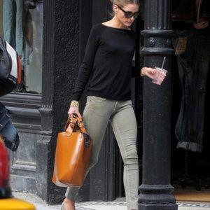 RARE Zara Plaited Leather Shopper
